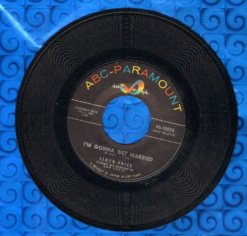 Price, Lloyd - Three Little Pigs/I'm Gonna Get Married - EX8/ - 45 rpm Records