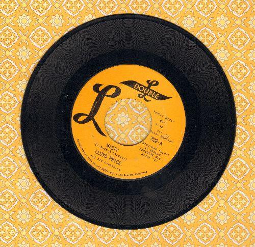 Price, Lloyd - Misty/Cry On - EX8/ - 45 rpm Records
