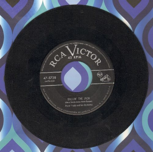 Prado, Perez & His Orchestra - Ballin' The Jack/Such A Night - VG7/ - 45 rpm Records