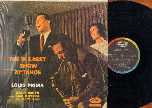 Prima, Louis & Keely Smith - The Wildest Show At Tahoe: On The Sunny Side Of The Street, How High The Moon, I'm In The Mood For Love (vinyl MONO LP record, French Pressing) - NM9/NM9 - LP Records