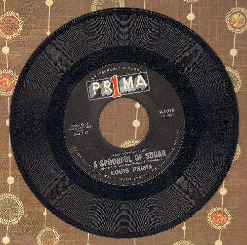 Prima, Louis - A Spoonful Of Sugar/Stay Awake - NM9/ - 45 rpm Records