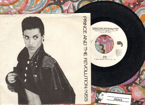 Prince - Kiss/Heart Or $ (with picture sleeve) - EX8/EX8 - 45 rpm Records