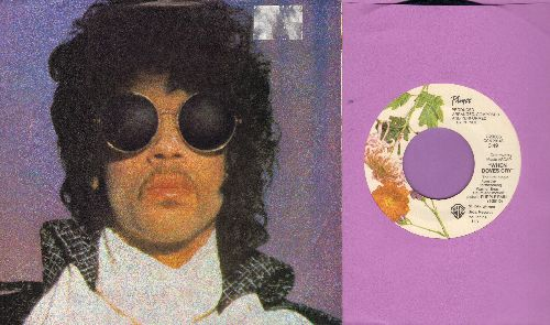 Prince - When Doves Cry/17 Days (with picture sleeve) - NM9/EX8 - 45 rpm Records