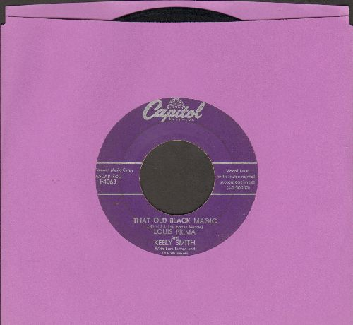 Prima, Louis & Keely Smith - That Old Black Magic/You Are My Love (purple label first issue) - VG7/ - 45 rpm Records