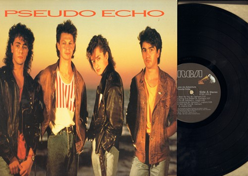 Pseudo Echo - Love An Adventure: Funkytown (4:51 minutes Dance Club Version), A Beat For You, Destination Unknown (vinyl STEREO LP record) - NM9/VG7 - LP Records