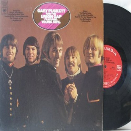 Puckett, Gary & The Union Gap - Young Girl: Honey, The Mighty Quinn, Lady Madonna. Since You've Been Gone (vinyl STEREO LP record) - EX8/EX8 - LP Records