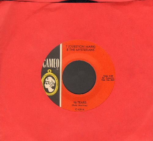 Question Mark & The Mysterians - 96 Tears/Midnight Hour (wol) - NM9/ - 45 rpm Records
