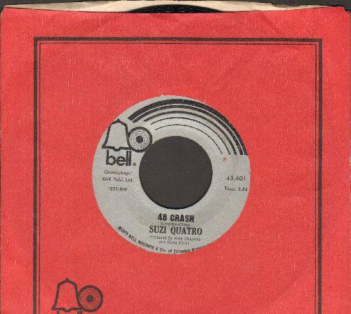 Quatro, Suzi - 48 Crash/Glycerine Queen (with Bell company sleeve) - EX8/ - 45 rpm Records