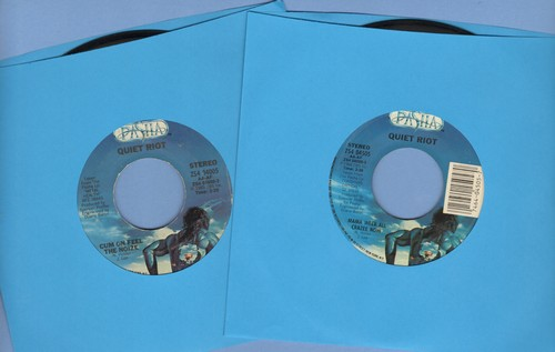 Quiet Riot - 2 for 1 Special: Cum On Feel The Noise/Mama Weer Al Crazee Now (2 vintage first issue 45rpm records for the price of 1!) - EX8/ - 45 rpm Records