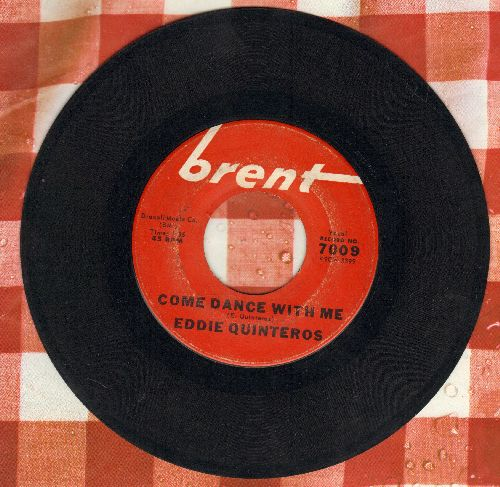 Quinteros, Eddie - Come Dance With Me/Vivian (minor wol) - VG7/ - 45 rpm Records