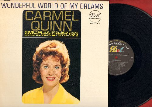 Quinn, Carmel - Wonderful World Of My Dreams: The Wayward Wind, I Really Don't Want To Know, Are You Lonesome Tonight, I Count My Sheep (vinyl MONO LP record) - NM9/NM9 - LP Records