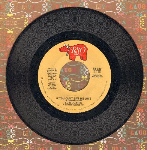 Quatro, Suzi - If You Can't Give Me Love/Non Citizen  - VG7/ - 45 rpm Records
