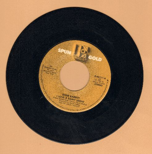 Rabbitt, Eddie - I Love A Rainy Night/Gone Too Far (double-hit re-issue) - EX8/ - 45 rpm Records