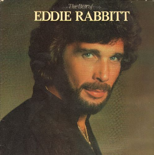 Rabbit, Eddie - The Best Of: Every Which Way But Loose, I Can't Help Myself, Drinkin' My Baby (Off My Mind), Two Dollars In The Juke Box (vinyl STEREO LP record) - NM9/EX8 - LP Records