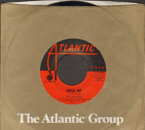 Rascals - I Believe/Hold On (with Atlantic company sleeve) - NM9/ - 45 rpm Records