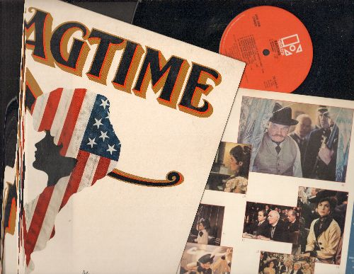 Newman, Randy - Ragtime - Original Motion Picture Sound Track (vinyl STEREO LP record) - NM9/NM9 - LP Records