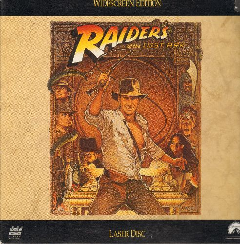 Raiders Of The Lost Ark - Raiders Of The Lost Ark - Widescreen Edition LASER DISC of the Steven Spielberg Classic starring Harrison Ford (This is a LASER DISC, not any other kind of media!) - NM9/EX8 - Laser Discs