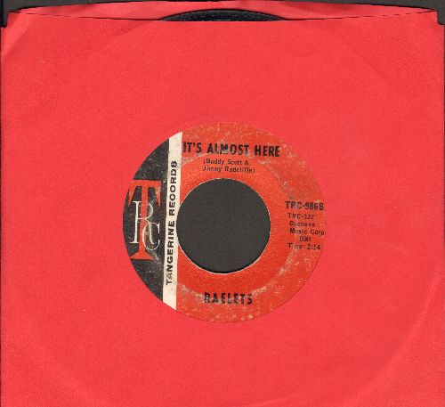 Raeletts - It's Almost Here/I Want To Thank You - EX8/ - 45 rpm Records