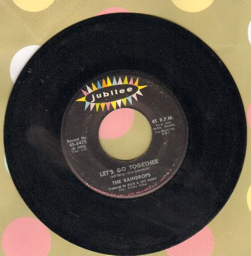 Raindrops - Let's Go Together/You Got What I Like - EX8/ - 45 rpm Records