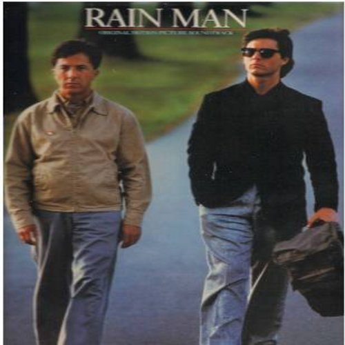 Rain Man - Rain Man - Original Motion Picture Sound Track. Includes hits -Iko Iko- by The Belle Stars, -At Last- by Etta James and Las Vegas/End Credits by Hans Zimmer (vinyl LP record) - M10/NM9 - LP Records