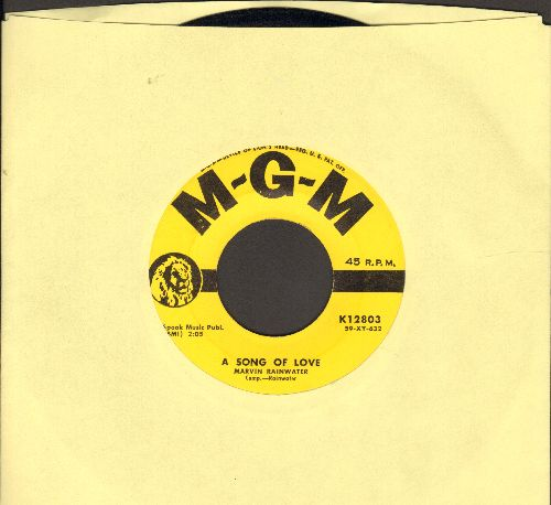 Rainwater, Marvin - A Song Of Love/Half-Breed - EX8/ - 45 rpm Records