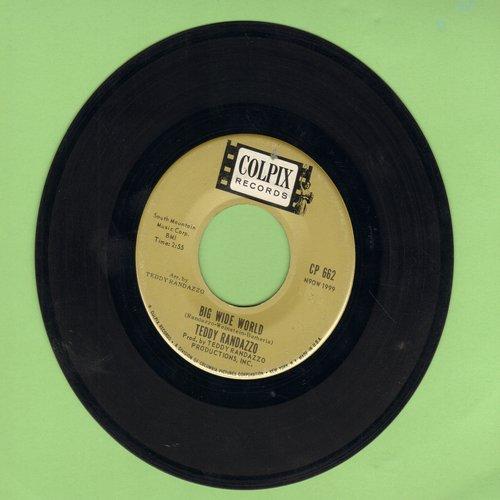 Randazzo, Teddy - Big Wide World/Be Sure My Love - VG7/ - 45 rpm Records
