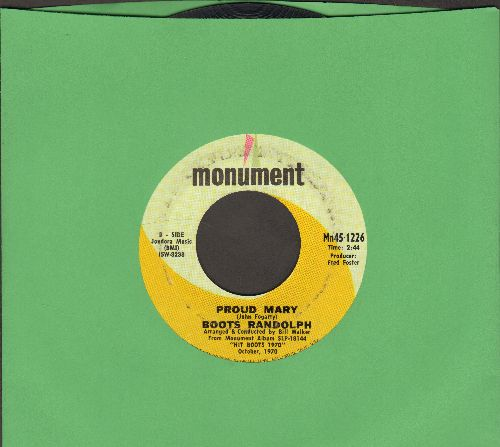 Randolph, Boots - Proud Mary/Without Love (There Is Nothing) - EX8/ - 45 rpm Records
