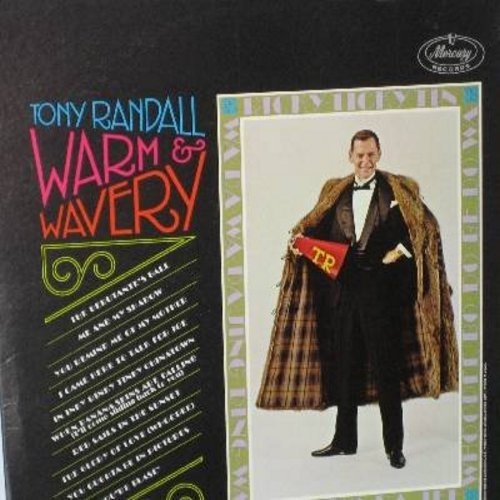 Randall, Tony - Warm & Wavery: When Banana Skins Are Falling (I'll Come Sliding Back To You), The Glory Of Love, You Oughta Be In Pictures, The Debutante's Ball, Me And My Shadow (vinyl STEREO LP record) - M10/EX8 - LP Records