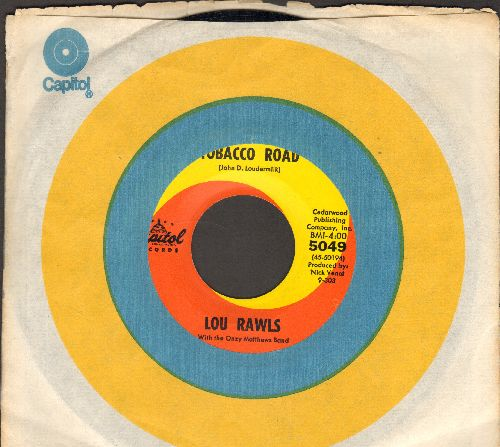 Rawls, Lou - Tobacco Road/Blues For A Four String Guitar (with Capitol company sleeve) - NM9/ - 45 rpm Records