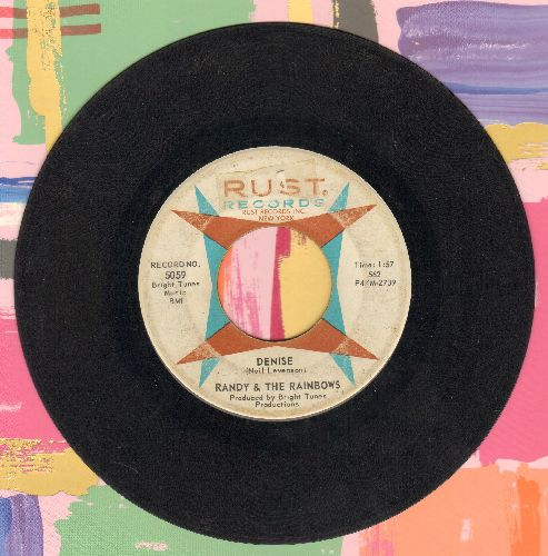 Randy & The Rainbows - Denise/Come Back - VG6/ - 45 rpm Records