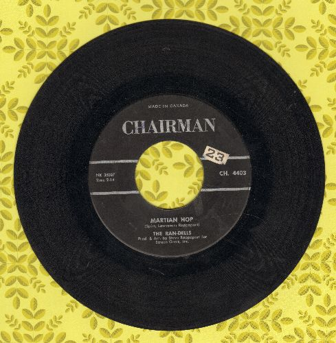 Ran-Dells - Martian Hop (Halloween Party Favorite!)/Forgive Me Darling (I Have Lied) (Canadian Pressing) - VG7/ - 45 rpm Records