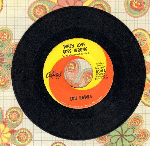 Rawls, Lou - When Love Goes Wrong/Show Business - EX8/ - 45 rpm Records