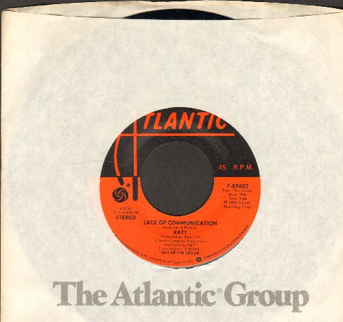 Ratt - Lack Of Communication/Scene Of A Crime (with Atlantic company sleeve) - NM9/ - 45 rpm Records