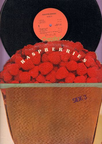 Raspberries - Side 3: Tonight, Last Dance, I'm A Rocker, Ecstacy, Money Down, On The Beach (vinyl STEREO LP record, first pressing with unique gate-fold cover) - EX8/EX8 - LP Records