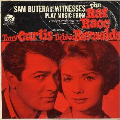 Rat Race - The Rat Race - Original Motion Picture Score by Sam Butera & The Witnesses (vinyl MONO LP record) - NM9/EX8 - LP Records