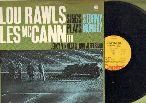 Rawls, Lou & Les McCann Ltd - Stormy Monday: God Bless The Child, 'Tain't Nobody's Biz-ness If I Do, Muddy Water (vinyl MONO LP record) - NM9/EX8 - LP Records