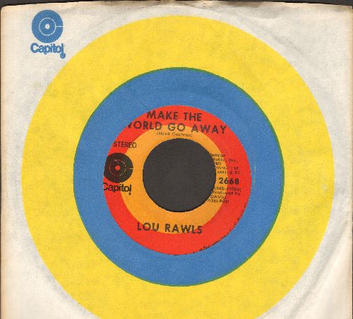 Rawls, Lou - Make The World Go Away/I Can't Make It Alone (with Capitol company sleeve) - NM9/ - 45 rpm Records