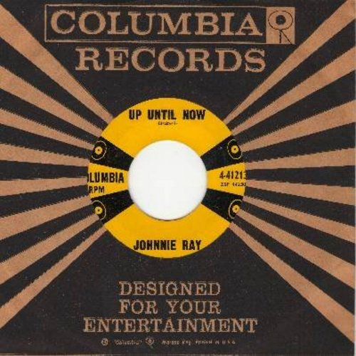 Ray, Johnnie - Up Until Now/No Regrets (with vintage Columbia company sleeve) - EX8/ - 45 rpm Records