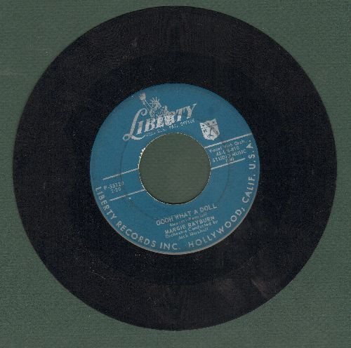 Rayburn, Margie - Oooh What A Doll/Smoochin - VG7/ - 45 rpm Records