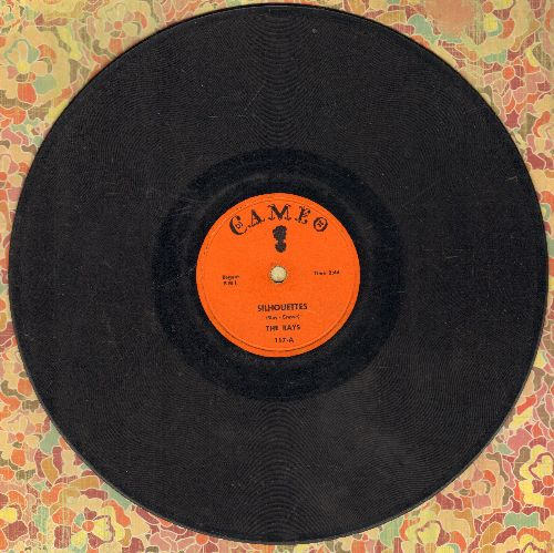 Rays - Silhouettes/Daddy Cool (RARE 10 inch 78 rpm record) - G4/ - 45 rpm Records