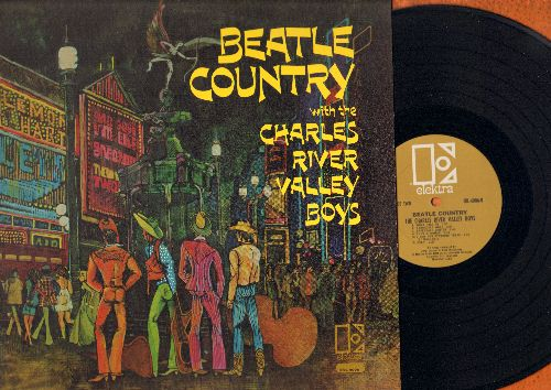 Charles River Valley Boys - Beatle Country: I Feel Fine, Yellow Submarine, Ticket To Ride, I Saw Her Standing There, Paperback Writer, Help! (vinyl MONO LP record) - NM9/NM9 - LP Records