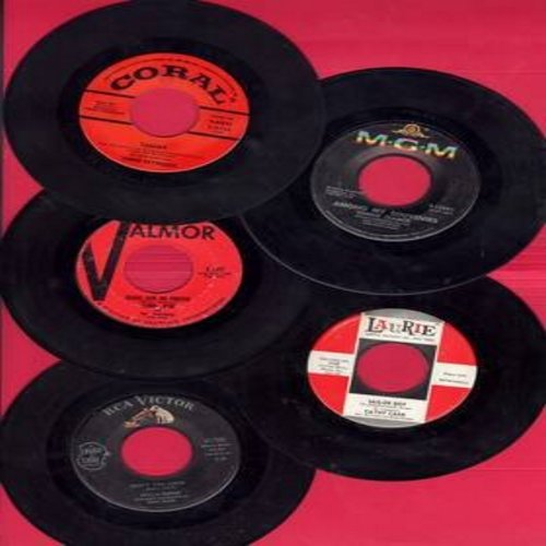 Reese, Della, Debbie Reynolds, Connie Francis, Cathy Jean, Carry Carr - Dreamy Gril-Sound 5-Pack: First issues in very good or better condition, shipped in white paper sleeves with strip of 5 blank company sleeves. Hits include Tammy, Don't You Know, Plea