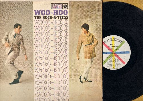 Rock-A-Teens - Woo-Hoo: That's My Mama, Dance To The Bop, Janis Will Rock, Lotta Boppin', I Was Born To Rock (vinyl MONO LP record) - NM9/VG6 - LP Records