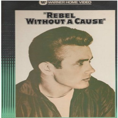 Rebel Without A Cause - Rebel Without A Cause - Laser Disc of the Classic Drama starring Natalie Wood, Oscar Nominees James Dean and Sal Mineo  - THIS IS A LASER DISC, NOT ANY OTHER KIND OF MEDIA! - NM9/EX8 - Laser Discs