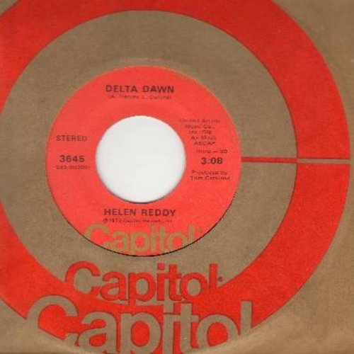 Reddy, Helen - Delta Dawn/If We Could Still Be Friends - EX8/ - 45 rpm Records