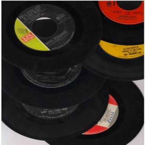 Shangri-Las, Jackie DeShannon, Barbara Lewis, Skeeter Davis, Patty Duke, Chiffons - 60s Girl-Sound 6-Pack: 6 first issue 45rpm records in very good or better condition. Hits include Remember (Walkin' In The Sand), Baby I'm Yours, Don't Just Stand There, P