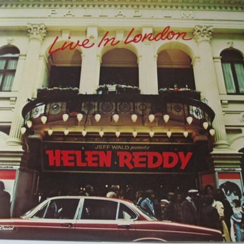 Reddy, Helen - Live In London: Candle On The Water, Angie Baby, We'll Sing In The Sunshine, Poor Little Fool (2 vinyl STEREO LP record set, gate-fold cover) - NM9/NM9 - LP Records