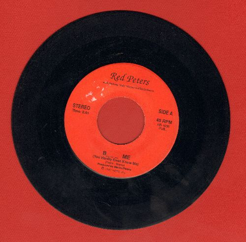 Peters, Red - Bl*w Me/Bl*w Me (Instrumental) - VG7/ - 45 rpm Records