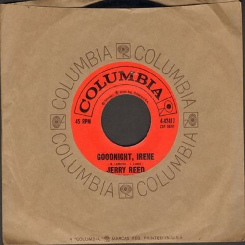 Reed, Jerry - Goodnight, Irene/I'm Movin' On (with Columbia company sleeve) - NM9/ - 45 rpm Records