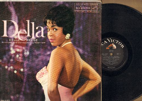 Reese, Della - Della: The Lady Is A Tramp, Goody Goody, Blue Skies, I'll Get By (vinyl MONO LP record) - EX8/VG7 - LP Records